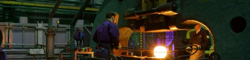 Технология ковки на предприятиях тяжелой промышленности